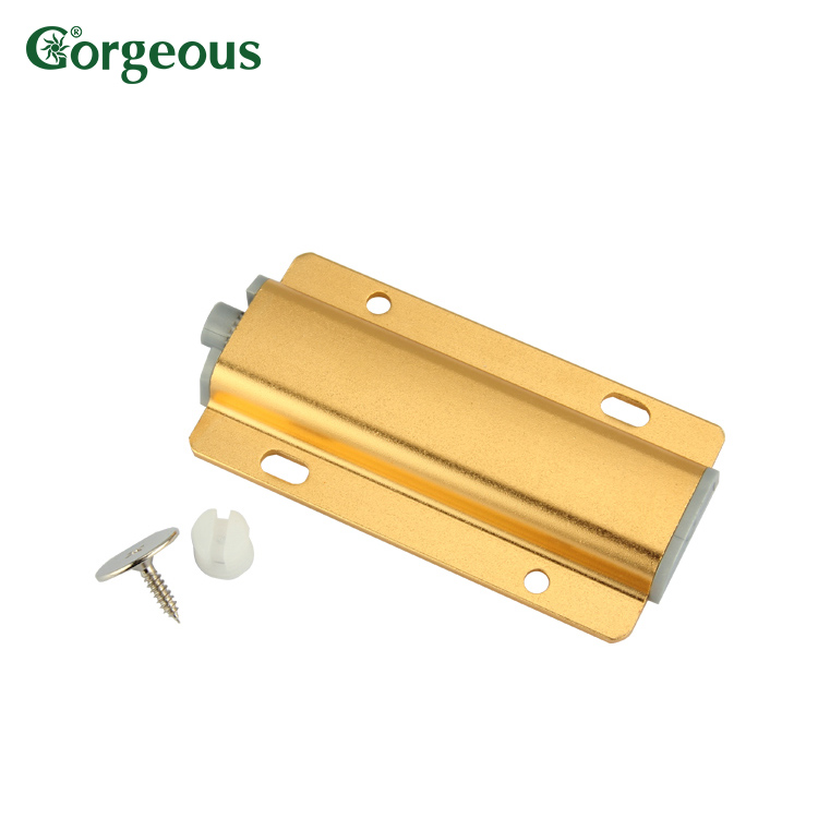 Kitchen Cabinet Hardware Plastic Magnetic Catch Push To Open Door Latch